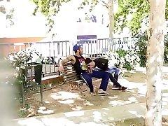 Gay Sucking in Public