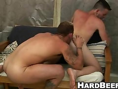 Here are two hot studs who are sucking and fucking