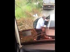 Hidden vidieo sex pecah dare older man fucks in the street