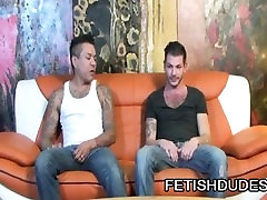 Max Sanchez And Tristan Mathews - Gay Lovers In A Spanking Punishment Scene
