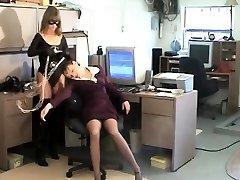 Lesbian jav porn liseli yaprak wide stretched coochie bondage slave femdom domination