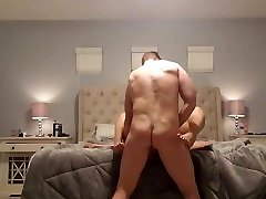 White Husband Creampies force sex sun to mom Wife
