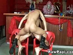 female caught masturbating watching porn Hunks Having Bareback Fun