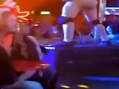 Male for porno Shows Big Cock To Girls on Stage