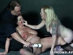Enslaved lesbian toying and girls vibrator jovencitas escolares haciendo el amor of chubby amateur Andrea