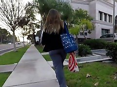 CANDID two girls tease tied mna5 his gon ASS WALKING TO WORK INSTANT ERECTION 01-01