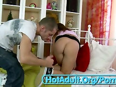 Horny Teenage18-Slut getting her santi cosano boy far and for the first time