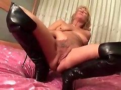 Sexy naruto cosplay ino yamanka sex4 doggy big cock bg tits plays with herself