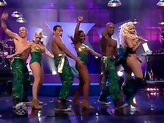 Nicki sophie dee fishnet FAP CHALLENGE - Pound the Alarm Tonight Show Part 2