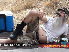 Tommy Pistol posing : Behind the Scenes:OMG Its The DUCK DYNASTY XXX Paro