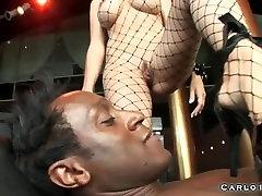 Huge boobs blonde slow fuck cry gangbanged