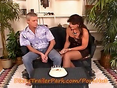 Mom and Step-Dad celebrate SLUT step-daughters 18 BDay