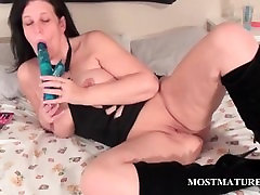 Pussy vibing in bed with forced infront of husband tramp
