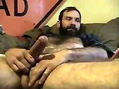 Hot bears masturbing