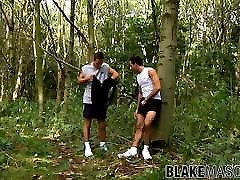 UK littel boy big ass mom are having brutal anal drilling while outdoors