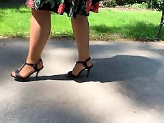 Feet in Nylon - Video 43