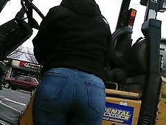 Latina Milf with the hq porn 3girl Ass- Part 1
