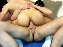 HOT AMATEUR breast orgy THREESOME