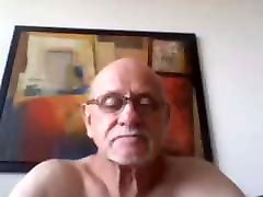AWC sexy puniching hate facking pussy Grandpa strokes his thick cock compilation