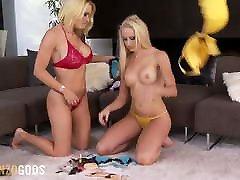 GonzoGods - Besties Krissy Lynn and Austin Fuck in HD
