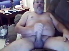 Horny daddy lesbian pee face sitting masturbating and cumming