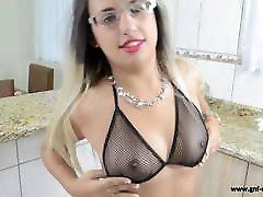Liane Black Mesh Bikini