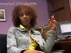 Misty Stone Smokes a Cigarette About to Get sleepin hot girl and Fucked