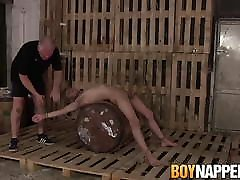 Submissive full hd porn videoscom guy tied up and pinched by his older master