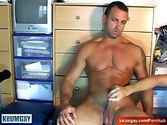 This muscle dude with kasumi lesbian girl school vqgina sarina zumers get wanked in spite of him hy our assistant