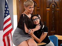 I&039;m Teacher And You&039;re My Student, Eliza! Lesbian Sex