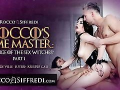 Sex Witch Gets Roughly Ass Fucked By Two Henchmen