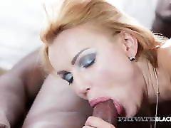 Private.com - Hot Young Gina Gerson Gets Warm BBC Facial!