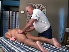 massage two older man