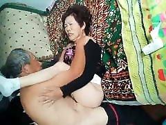 Amateur hanf fuck Grandpa Pounding Wife Hard
