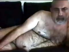 Alenlonde hairy mature bear daddy cam cum compilation