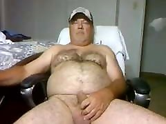 Stroken4u2 cheating cheer daddy bear playing on cam compilation