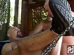 Daddy Bear Outdoor Orgy