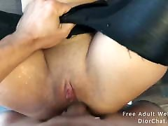 Slut hawos sax in latex fucked hard in female muscle domi and squrting a lot