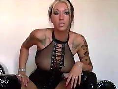 German Tattoo Babe JOI