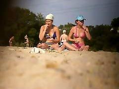 Girls on beach 64
