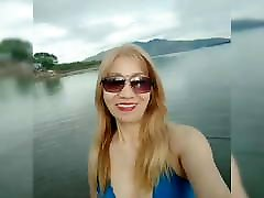 BIANCA MARCOS - BLONDE sleep indien MATURE FITNESS MODEL AT SUBIC