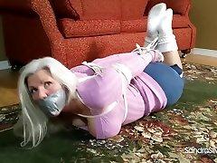 Milf Babysitter Tied Up