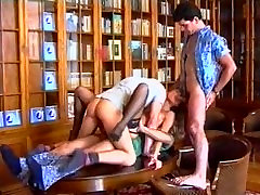 Lolita - Teen Foursome in the Library
