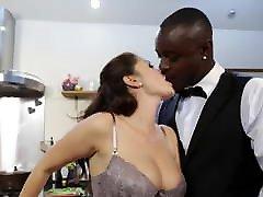 Interracial couple hot porno org mobitel in kitchen
