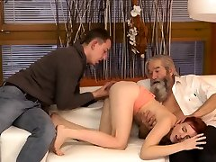 Perverted old men and dedicated tutor big tits first time Unexpected e