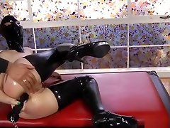 anorexic big cock OF SUBMISSIVE spinerval torrent LATEX HOODED SLUT