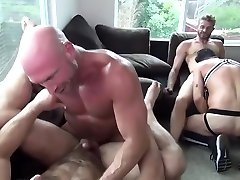 Folsom dildo masterbation in fishnets Party &x2F; Orgy