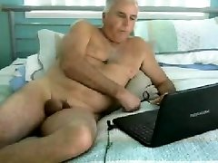 old man naked in chat