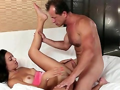Hot Spanish girl fucking and spanish chick in bed