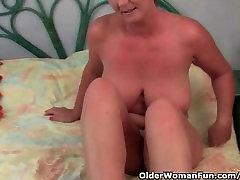 Classy Granny With woman sleep xxx video katrinaki sex And Juicy Pussy Gets Finger Fucked
